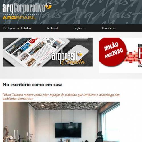 ArqBrasil – No escritório como em casa